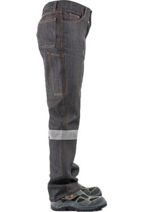 Çamdalı İş Elbiseleri Nostalji Kot Reflektörlü İşçi Pantolonu