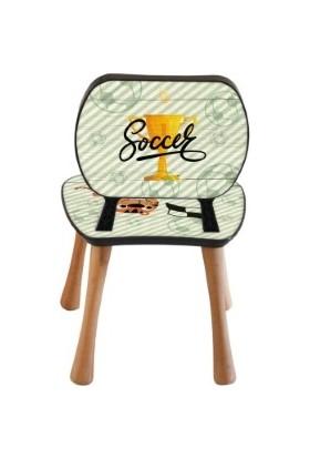 Popcorn Kids Soccer Aktivite Sandalye 2 - 6 Yaş