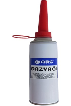 Abg Gaz Yağı Metal Kutu 500 ml