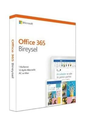 Microsoft Office 365 QQ2-01015 Bireysel Abonelik Türkçe 1 Kullanıcı 1 Yıl
