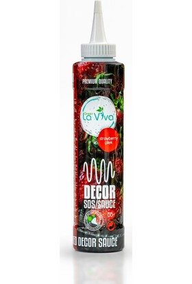 Green Laviva Çilek Dekor Sos Strawberry Decor Souce 750 gr