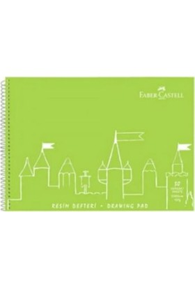 Faber-Castell PP Kapak Resim Defteri 35X50cm 30 Yaprak