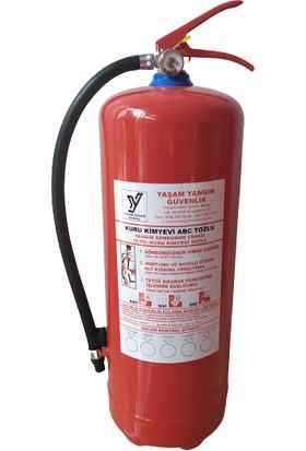 Yaşam Yangın Söndürme Cihazı Tüpü 6 kg - Kuru Kimyevi Tozlu