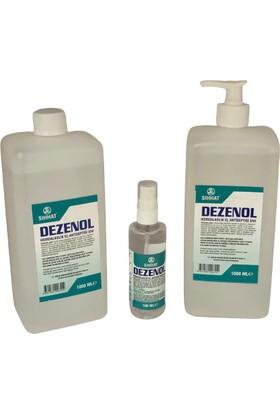 Sıhhat Dezenol El Dezenfektanı 1 lt + 1 lt + 100 ml + Pompa