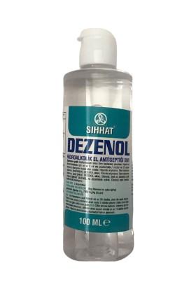 Sıhhat Dezenol Hidroalkolik El Antiseptiği Sıvı 100 ml Kapaklı 42'li Koli
