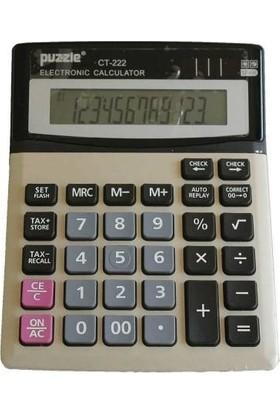 Puzzle CT-222S Hesap Makinesi