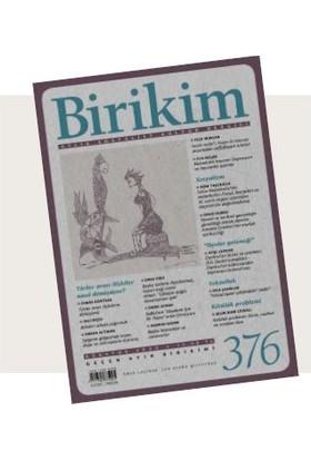 Birikim Sayı 376 - Ağustos