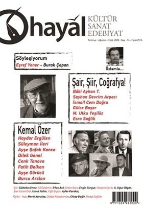 Hayal Kültür Sanat Edebiyat Dergisi Sayı: 74 Temmuz-Ağustos-Eylül 2020 - Kolektif