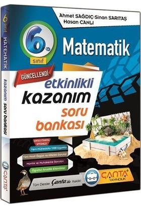 Çanta Yayınları 6. Sınıf Matematik Etkinlikli Kazanım Soru Bankası