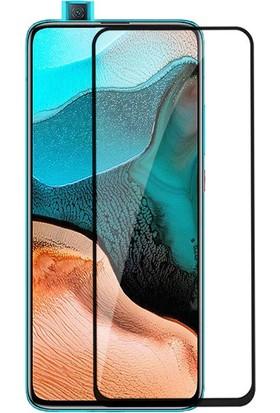 Happyshop Xiaomi Pocophone F2 Pro 5D Cam Ekran Koruyucu Siyah