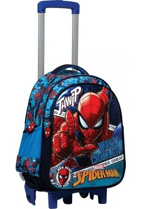 Otto İlkokul Çanta Spiderman Çekçekli 5269