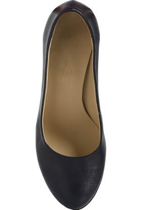 Rubrica Topuklu Ayakkabı Deri Lacivert MA-006
