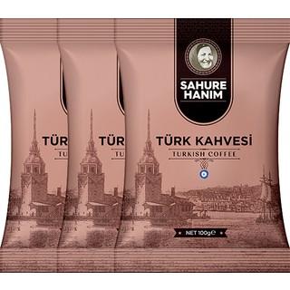 Tada Sahure Hanım Türk Kahvesi 100 gr 3'lü Paket