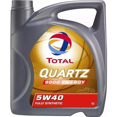 Total Quartz 9000 5w40 4 Litre Motor Yag Benzin Dizel Fiyati