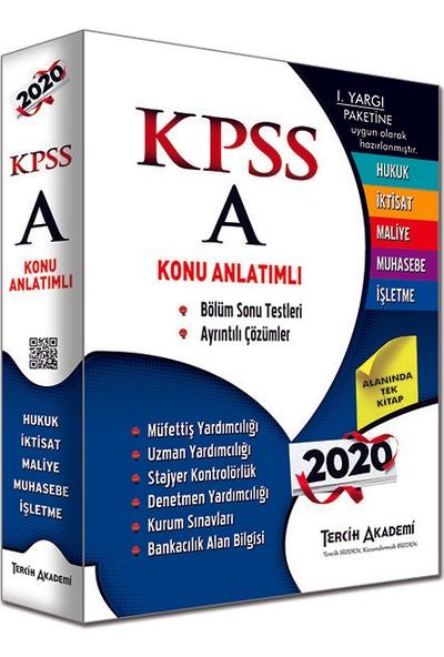 Tercih Akademi 2020 KPSS A Grubu Tüm Dersler Konu Anlatımlı