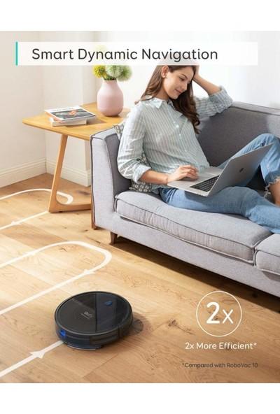 Anker Eufy RoboVac G10 Hybrid - Wi-Fi Uygulama Destekli - HEPA Filtreli Yüksek Emişli Akıllı Robot Süpürge