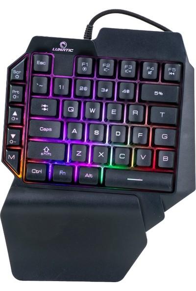 Lunatic RGB KB-L24 Mekanik Hisli Mini Pubg Gaming Klavye