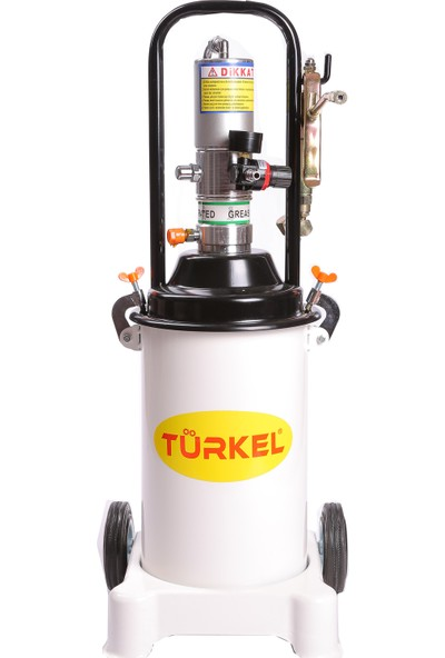 Türkel 12 Kg Havalı Gres Pompası