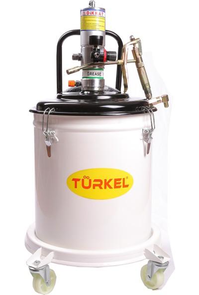 Türkel 35 Kg Havalı Gres Pompası