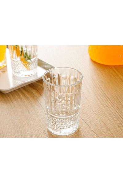 English Home Silva Cam 6'lı Su Bardağı 180 ml Şeffaf