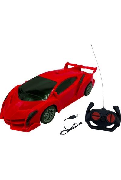 Can-Em Oyuncak 1:20 Uzaktan Kumandalı Şarjlı Oyuncak Araba FD500/501 - Kırmızı