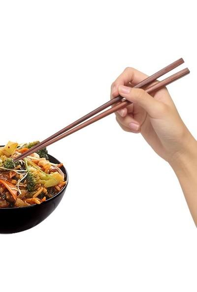 Genx Çin Çubukları Chopsticks (10 Çift) - Bambu