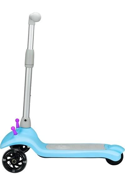 Naviway NS-05 Mavi Taşınabilir Elektrikli Çocuk Scooter