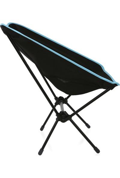 Joystar Kamp Sandalyesi Pratik Çantalı Plaj Sandalyesi Mavi