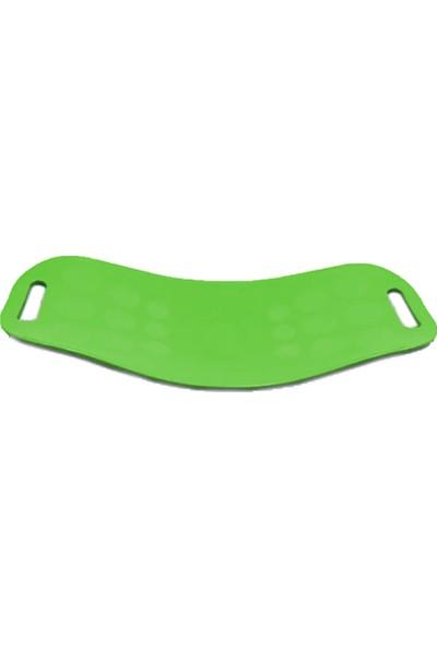 Suling Incline Fit Swivel Denge Tahtası, Egzersiz Denge Aparatı Yeşil