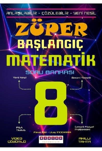 Platon Yayınları 8. Sınıf Züper Başlangıç Matematik Soru Bankası