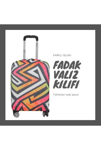 FADAK Valiz Kılıfı - Mosaic - MEDIUM