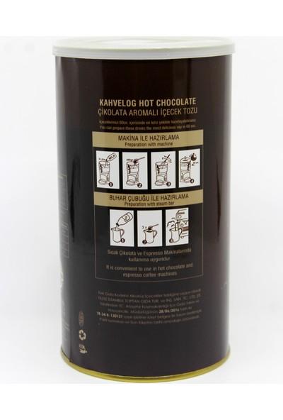 Kahvelog Sıcak Çikolata Tozu 1 KG