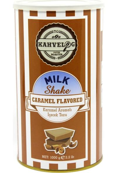 Kahvelog Karamel Aromalı Milkshake Tozu 1 KG