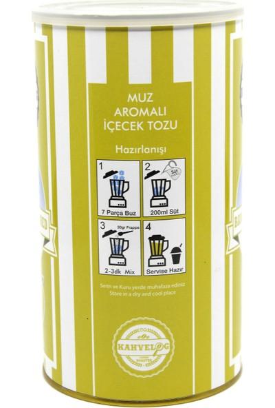 Kahvelog Muz Aromalı Milkshake / Smothie Tozu 1 KG