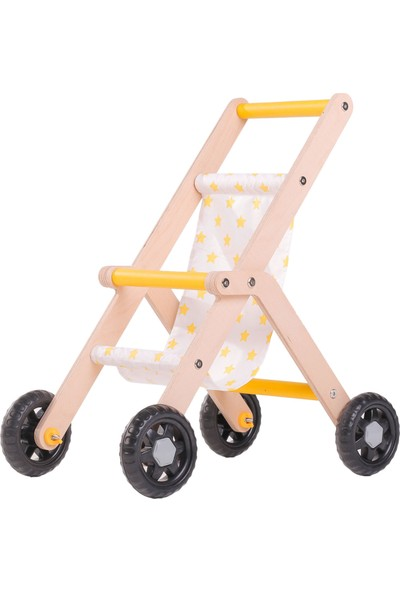Mamatoyz 07 Oyuncak Bebek Arabası - Sarı