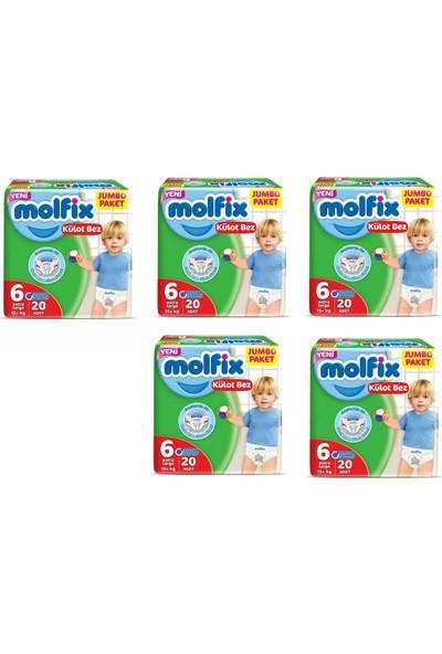 Molfix Külot Bez 6 Beden 5X20 +15 kg