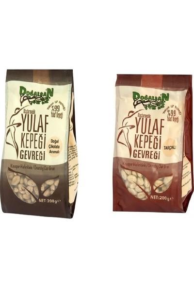 Doğalsan Yulaf Kepeği Gevreği Çikolata ve Tarçınlı 200 gr x 2'li Sağlıklı Atıştırmalık