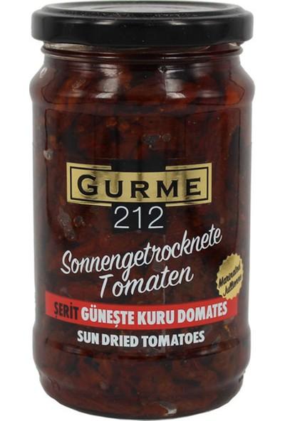 Gurme212 Güneşte Kurutulmuş Domates ‐ Yağda Marine ‐ Şerit Kesim 320 ml