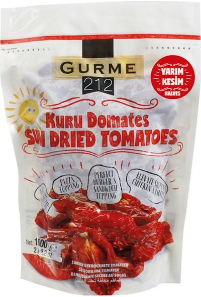 Gurme212 Naturel Güneşte Kurutulmuş Domates ‐ Yemeğe Hazır ‐ Yarım Kesim 1000 gr