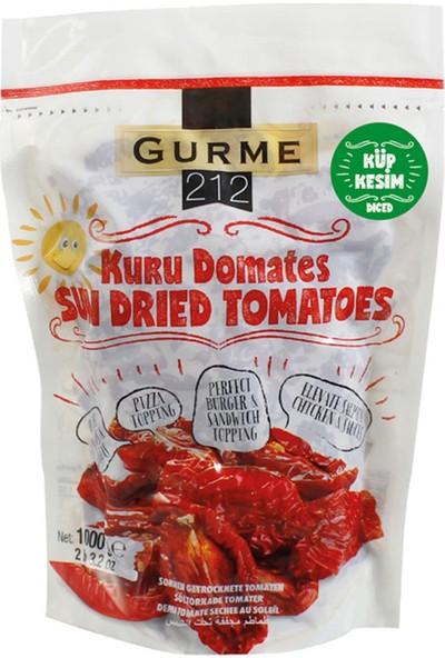 Gurme212 Naturel Güneşte Kurutulmuş Domates ‐ Yemeğe Hazır ‐ Küp Kesim 1000 gr