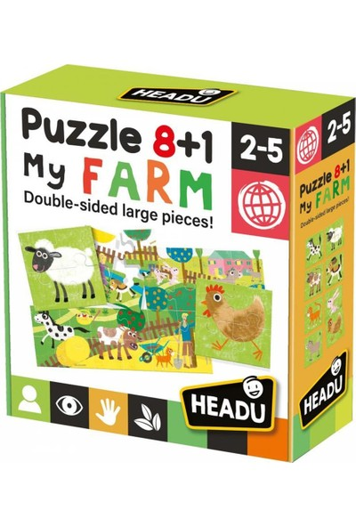 Headu 8+1 Çift Taraflı Çiftliğim 20867