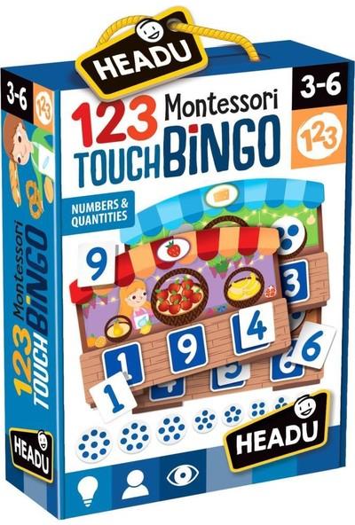 Headu Montessori 123 Bingo Sayıları Öğreniyorum 21109