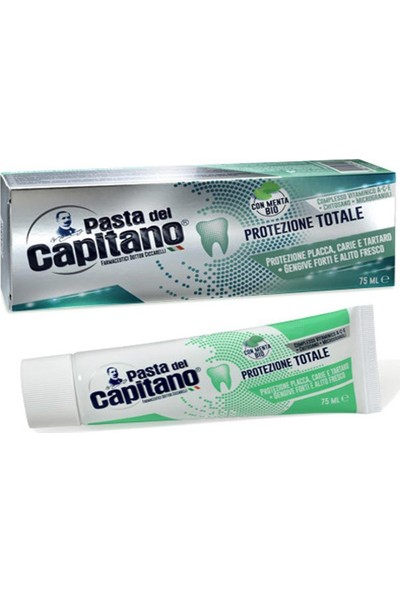Pasta Del Capitano Pasta Del Capitano Tam Koruma Diş Macunu 75 ml