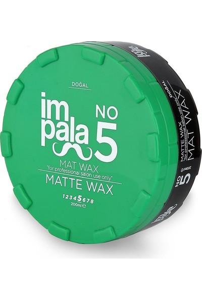 Impala Doğal Mat Wax 200 ml No:5