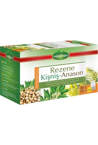 Mindivan Rezene Anason Kişniş Çayı 20'li Poşet Çay (2'li)