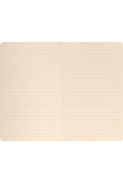 Matt Notebook Lastikli Çizgili Defter 13 x 21 cm 2'li