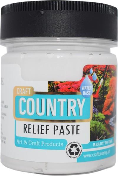 Craft Country 5701 Rölyef Pasta Beyaz 120 cc