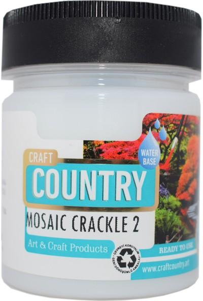 Craft Country 8010 Mozaik Çatlatma Verniği (2) 120 cc
