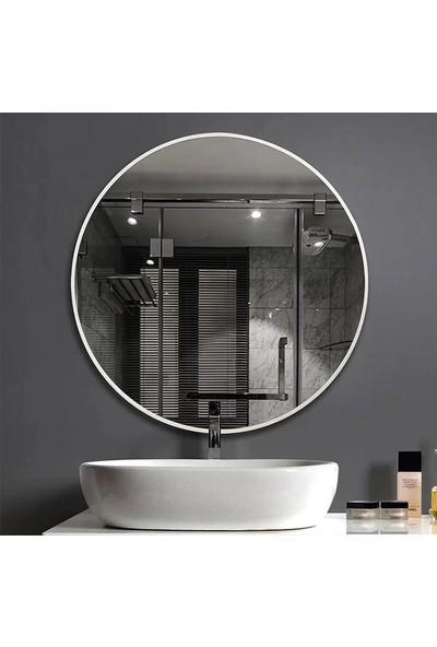Specchio Nehir Yuvarlak Çerçeveli Ayna