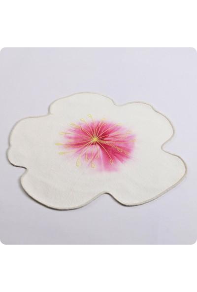 Casa Di Denim by Sinem Akay Beyaz Denim Çiçek Supla